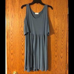 Cold shoulder boutique dress